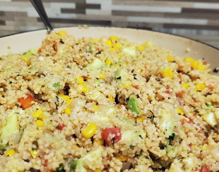 Perfect easy couscous salad side dish
