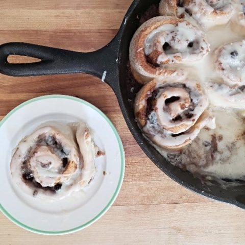 Easy No Yeast Cinnamon Rolls Recipe Honest And Truly