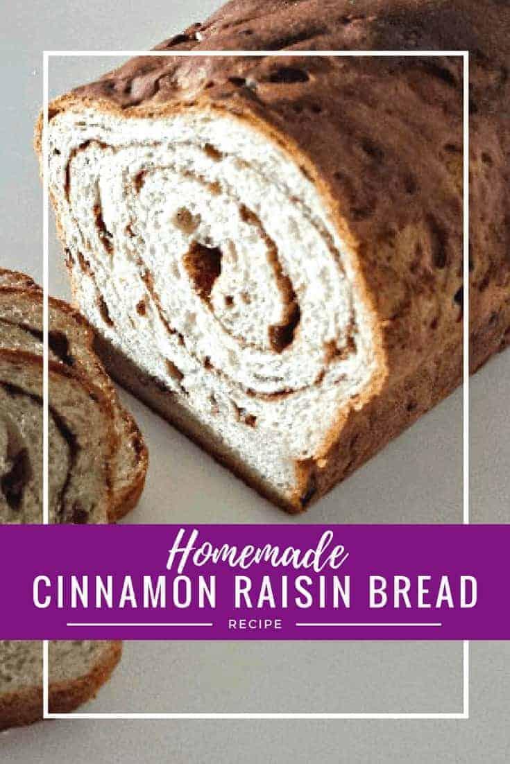 Homemade cinnamon raisin bread recipe - make cinnamon swirl bread from scratch with this simple and delicious recipe
