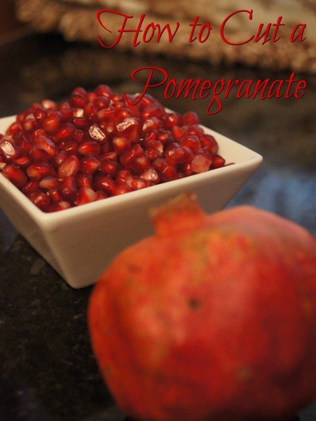 How To Cut A Pomegranate Honest And Truly