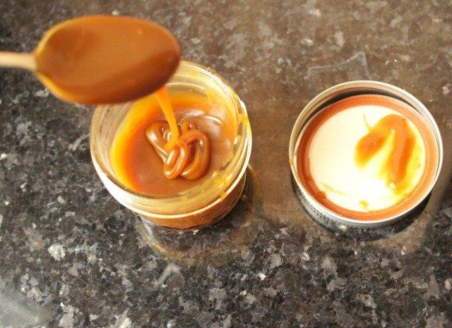 Salted caramel sauce recipe a little thicker