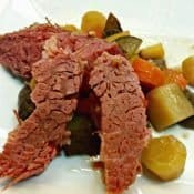 Crock pot corned beef recipe with no cabbage