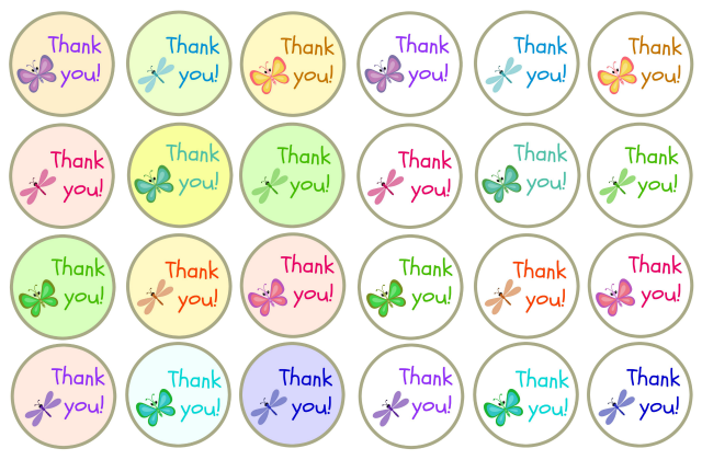 graphic about Thank You Printable Tag identified as Thank By yourself Present Tags Totally free Printable - Genuine And Seriously!