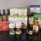 NOW Foods allergen friendly goodies giveaway bundle