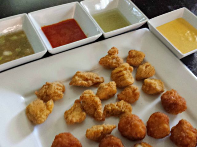 Fantastic Four Dipping Sauces side view