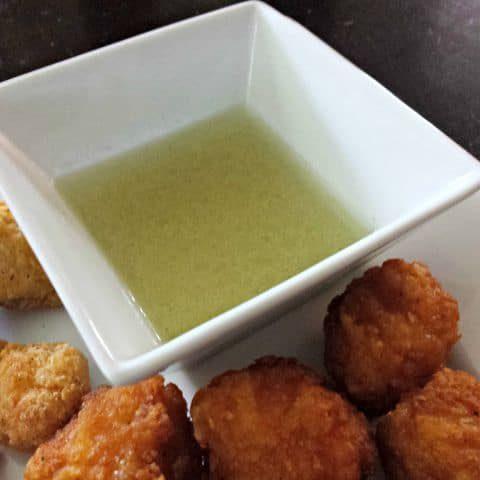 Garlic citrus dipping sauce big