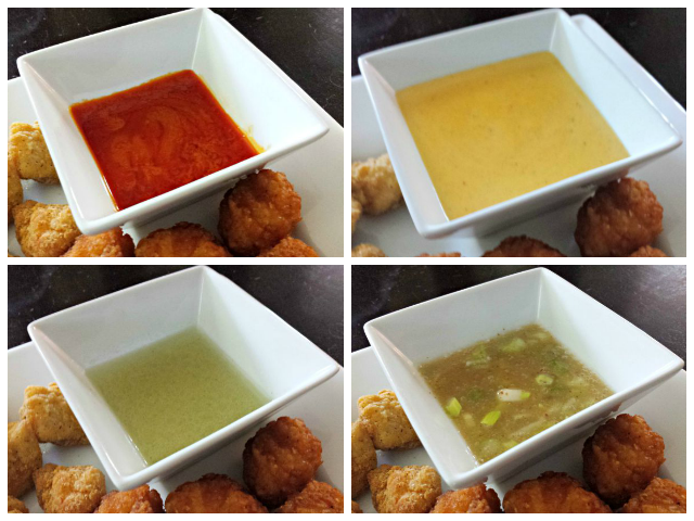 Loving the fantastic four dipping sauces
