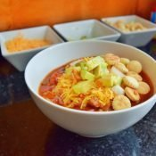 Perfect bowl of chili
