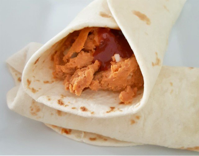 Make your own Taco Bell Bean Burritos with homemade refriend beans