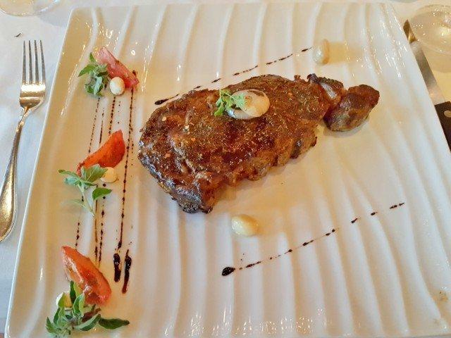 Broiled New York Strip Steak Carnival Cruise Steakhouse Dinner