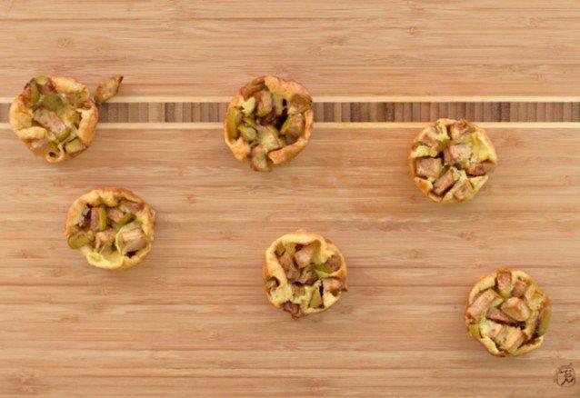 Enjoy easy mini apple pancakes