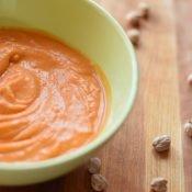 Creamy chickpea tomato soup recipe