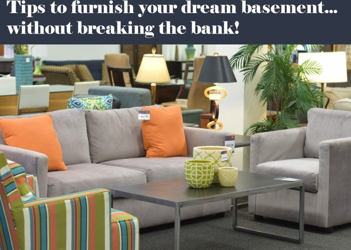 Ordinaire 9 Tips To Furnish The Basement Of Your Dreams (Without Breaking The Bank)