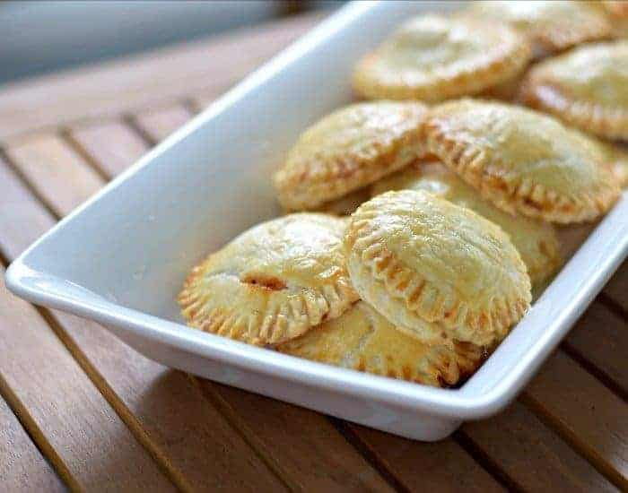 Weeknight chicken empanadas platter