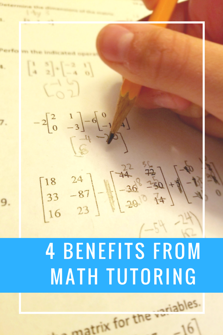 Mathnasium Benefits 4 things your child will get better at with math tutoring
