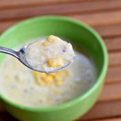 Taste of Instant Pot corn chowder recipe