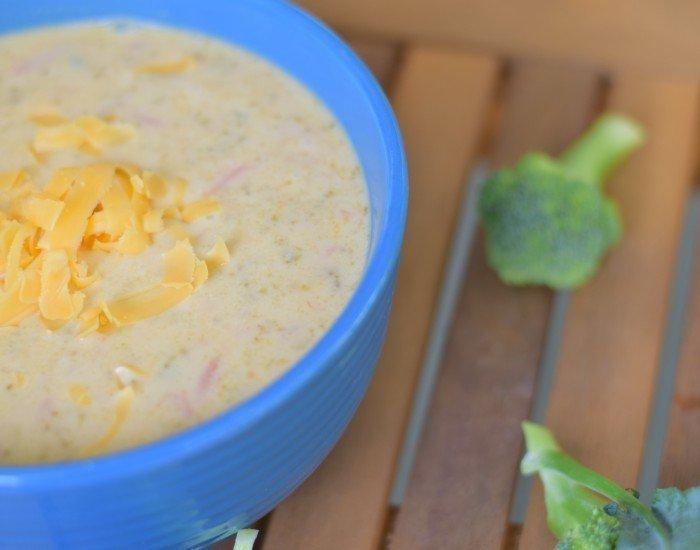 Instant Pot Broccoli Cheddar soup recipe