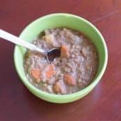 Simple Instant pot lentil soup