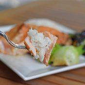 Perfect sous vide miso glazed salmon