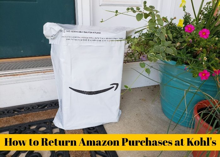 d3d26b1393e2 How To Return Amazon Purchases At Kohl s - Honest And Truly!