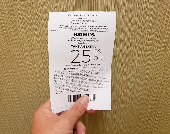 How To Return Amazon Purchases At Kohl's - Honest And Truly!