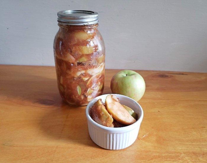 Simple cinnamon apples recipe