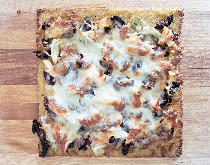 Perfect Mediterranean Pizza