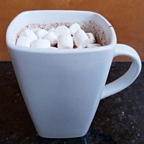Simple homemade hot chocolate