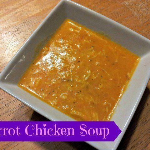 Carrot Chicken Soup