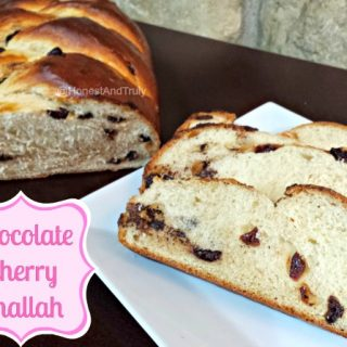 Chocolate Cherry Challah