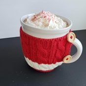 Easiest homemade peppermint hot chocolate