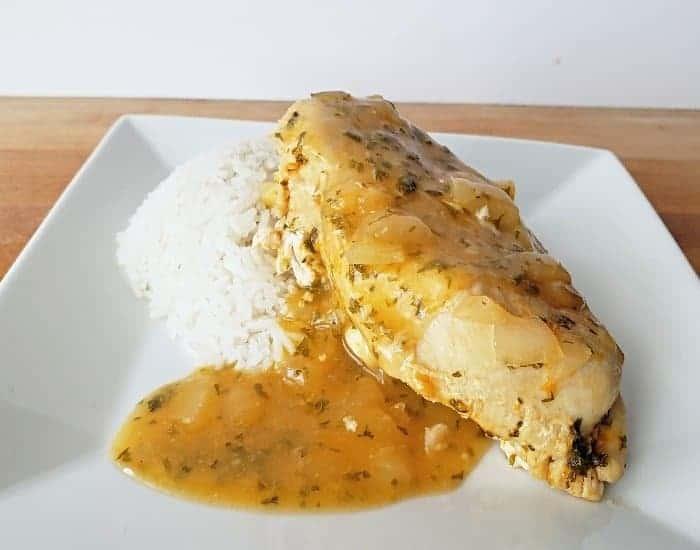 Simple lemon garlic chicken