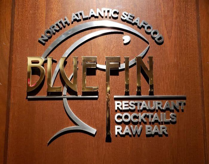 BlueFin Restaurant in Portland Maine
