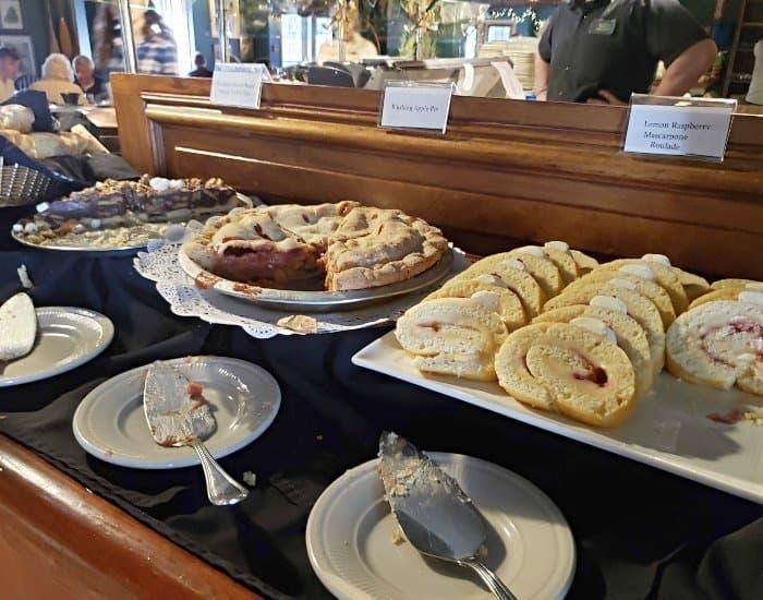 Broad Arrow Tavern desserts