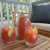 Homemade lemonade for summer