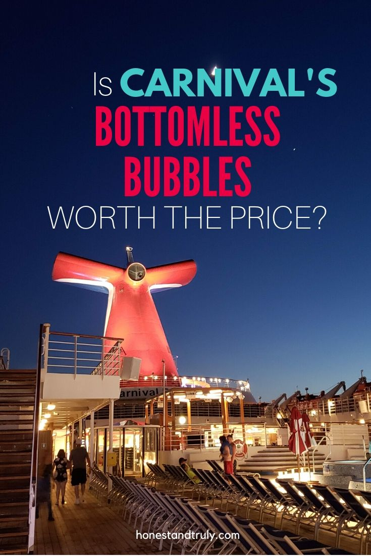 Bottomless Bubbles question