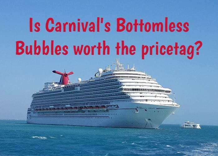 carnival Bottomless bubbles program