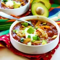 Pantry Chicken Taco Soup