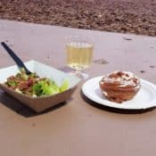Bacon dishes at Food and Wine festival