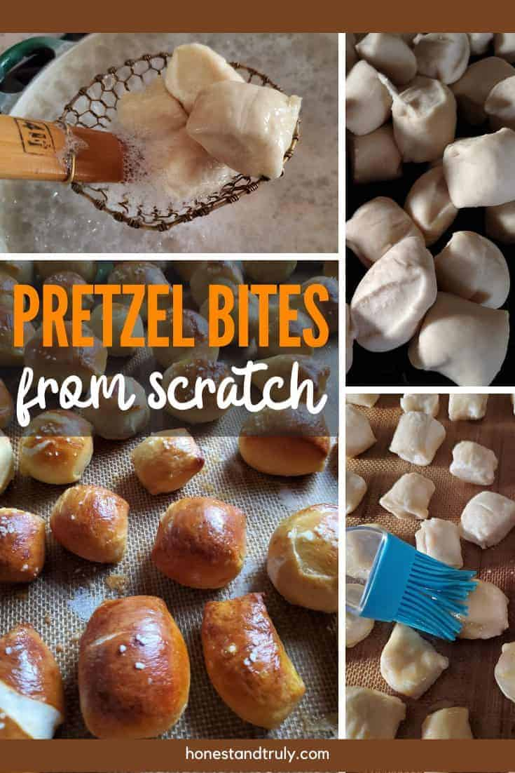 From Scratch Pretzel bites