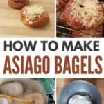 collage of how to make bagels